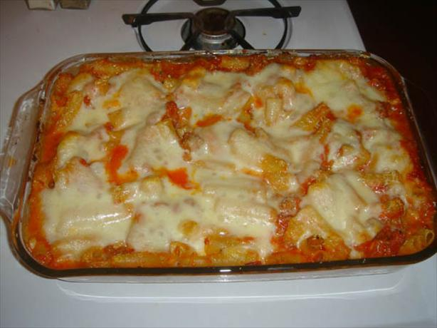 Authentic Baked Ziti. Photo by agentseven