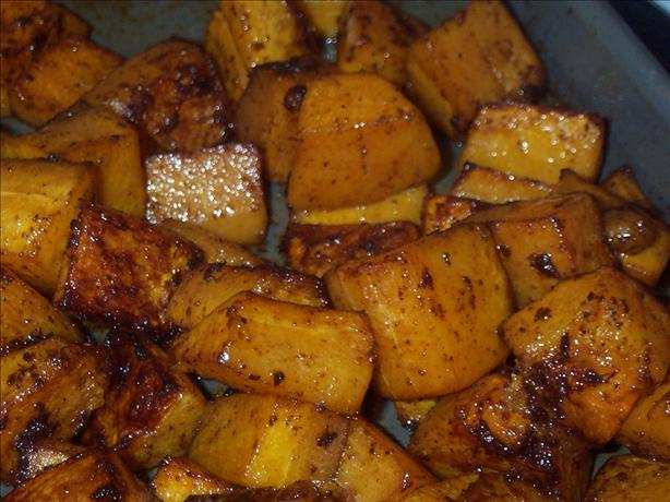 Spice-Roasted Butternut Squash With Smoked Sweet Paprika. Photo by BarbryT