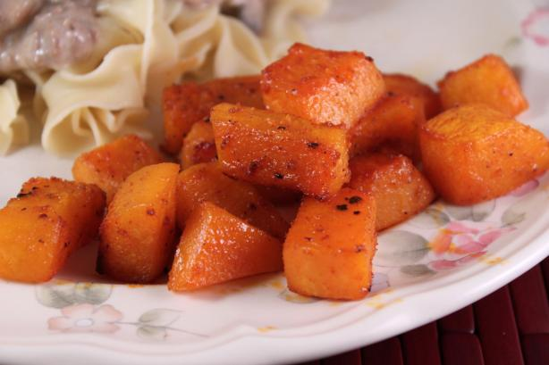 Spice-Roasted Butternut Squash With Smoked Sweet Paprika. Photo by SashasMommy