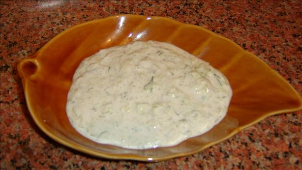 Egyptian Garlic Yogurt Cucumber Salad. Photo by cooking in cairo...