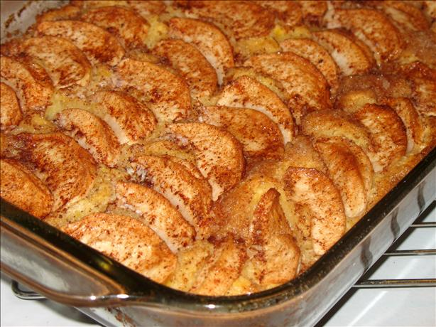 Apple Sour Cream Kuchen. Photo by Lori Mama