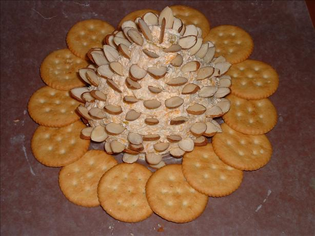 Pinecone Cheese Spread. Photo by Lucky Clover