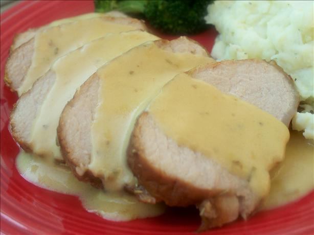 Honey, Mustard and Rosemary Roast Pork. Photo by *Parsley*