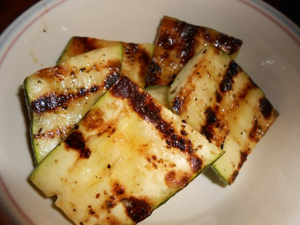 Quick BBQ Zucchini. Photo by linguinelisa