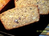 Banana-Raisin Nut Coffee Loaf. Recipe by Kittencalskitchen