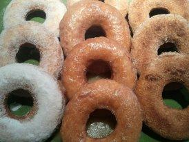 Amazing Gluten-Free Buttermilk Donuts / Doughnuts. Photo by Chef #1407323
