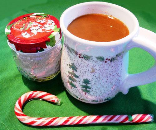 Gingerbread Creamer for Coffee or Tea (Gift Mix). Photo by Mikekey