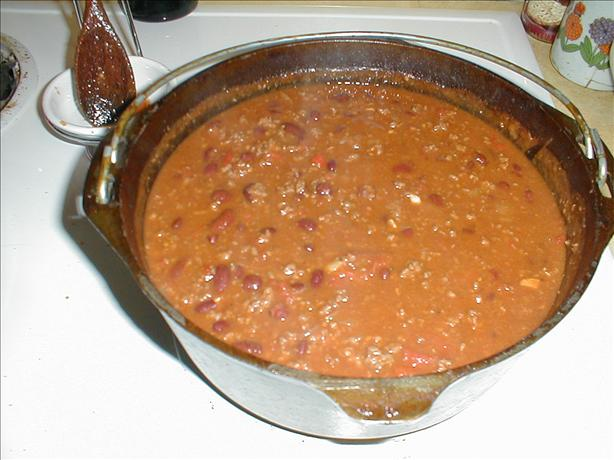 Beef Chili With Kidney Beans. Photo by Chef Shadows