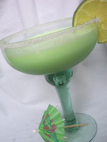 Jell-o Lime Margarita (Virgin) Smoothie. Photo by * Pamela *