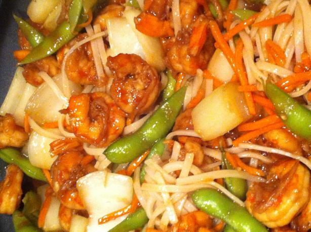 Shrimp Lo Mein. Photo by Chef #1029150