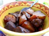 Slow Cooker BBQ Beef Stew