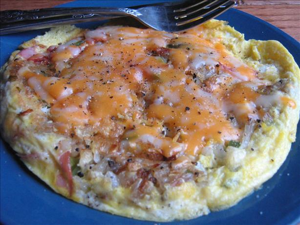 Cheesy Egg Potato and Ham Frittata Brunch Casserole. Photo by ~Leslie~