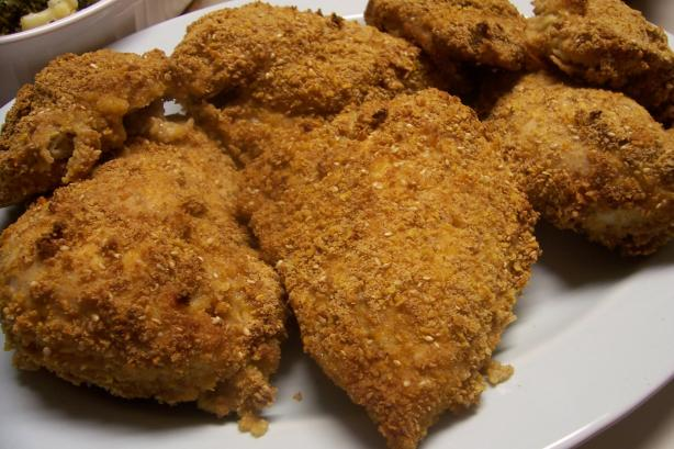 Oven Fried Chicken. Photo by HeatherFeather