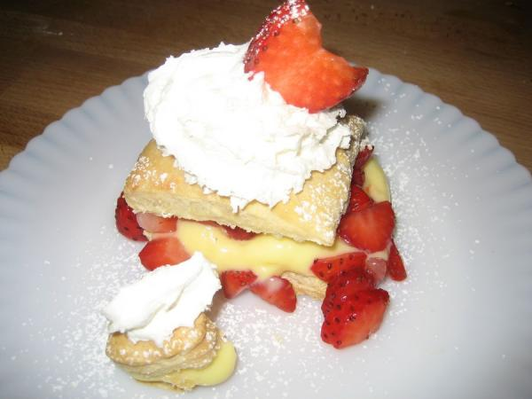 Best Ever Strawberry Napoleons. Photo by Halcyon Eve