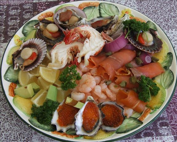 Australian Seafood Platter. Photo by Peter J