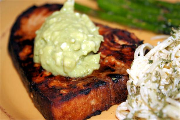 Lemon Soy Swordfish With Avocado Butter. Photo by ~Nimz~