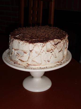 Tiramisu Layer Cake. Photo by Varga Girl