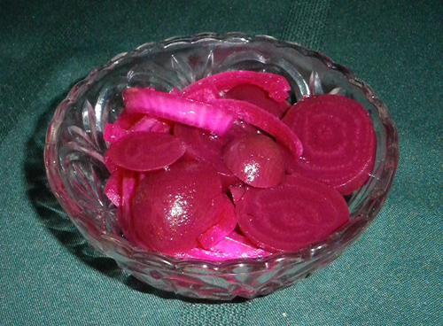 Pickled Beets. Photo by Bergy