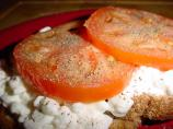 Cottage Cheese and Tomato on Toast