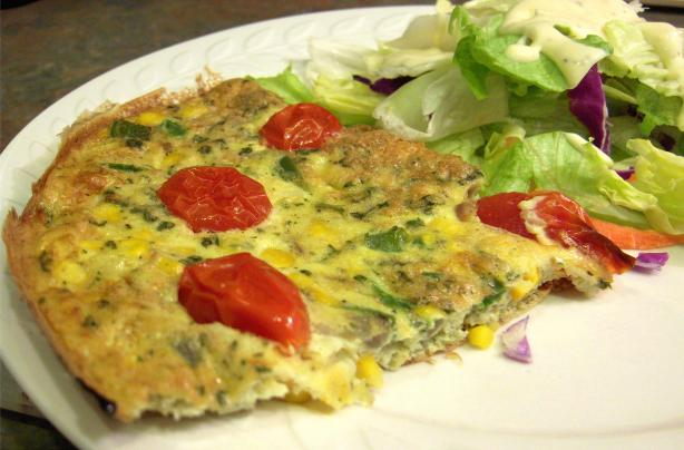 Southwestern Frittata. Photo by Derf