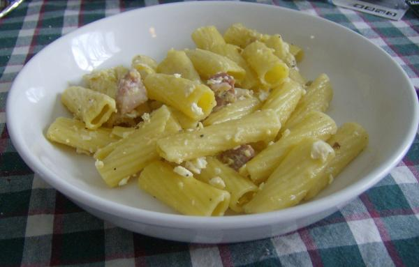 Carbonara - Rachael Ray. Photo by Marie Nixon