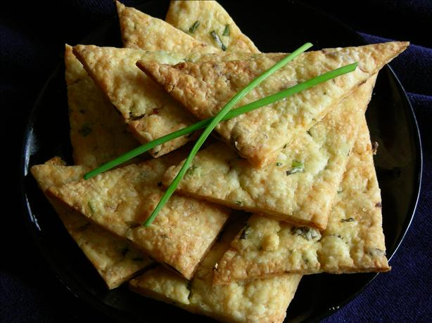 Herb and Garlic Triangles. Photo by kiwidutch