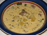 Cheeseburger Soup. Recipe by MizzNezz