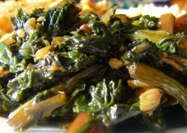 Brazilian Collard Greens. Photo by Susiecat too