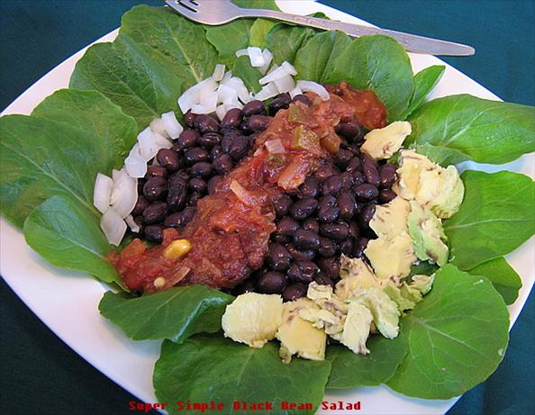 Super Simple Black Bean Salad. Photo by Annacia