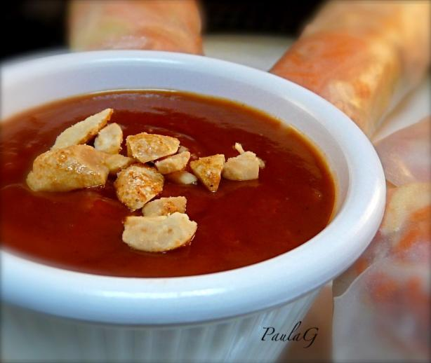 Vietnamese Peanut Sauce - Dipping Sauce for Fresh Spring Rolls. Photo by PaulaG