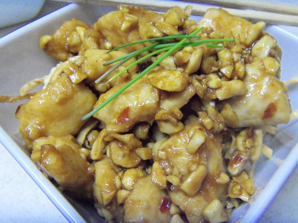 Cashew Nut Chicken. Photo by alligirl
