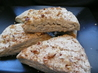 Cinnamon Walnut Scones. Recipe by Annacia