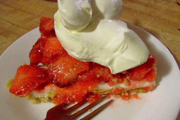Amish Country Strawberry Pie. Photo by CindiJ