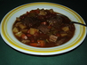 Hearty Beef and Rice Minestrone Soup. Recipe by Kittencalskitchen