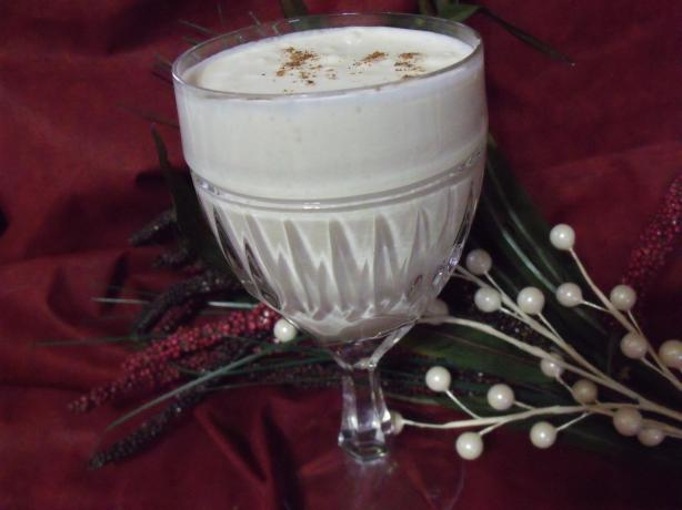 Syllabub (Cider With Whipped Cream). Photo by Darkhunter