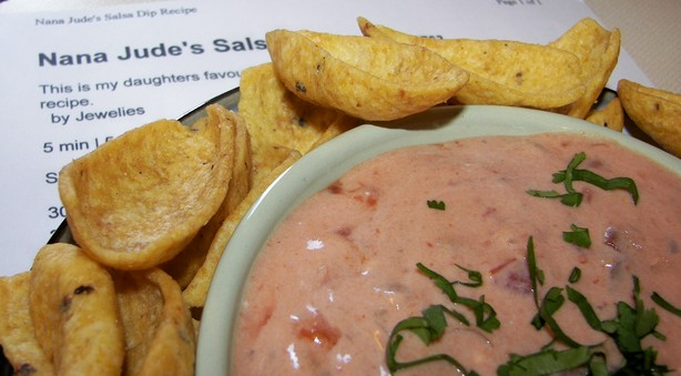 Nana Jude's Salsa Dip. Photo by Baby Kato