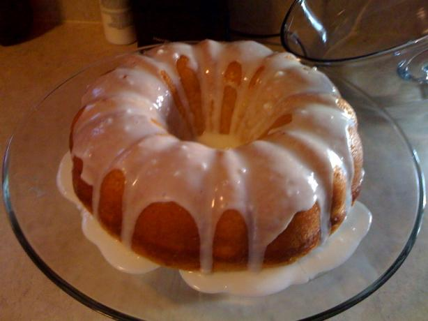 Barefoot Contessa's Lemon Yogurt Cake. Photo by Newly Mrs. Johnson