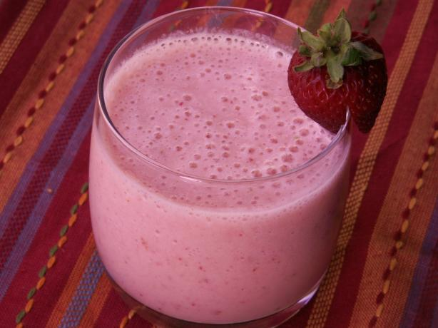 Strawberry-Banana-Pineapple Smoothie. Photo by JanuaryBride