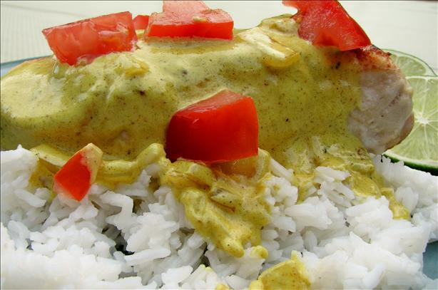 Chicken Breasts With Lime Curry Sauce. Photo by lazyme