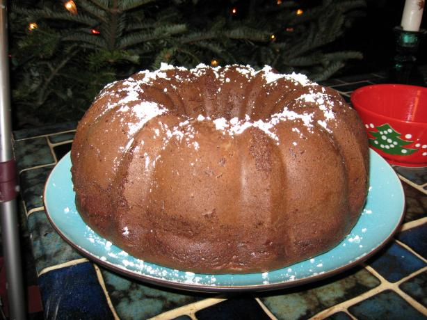 Rich Chocolate Kahlua Bundt Cake. Photo by breezermom