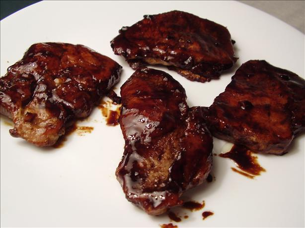 Tray Baked Sticky Pork Chops. Photo by NoraMarie