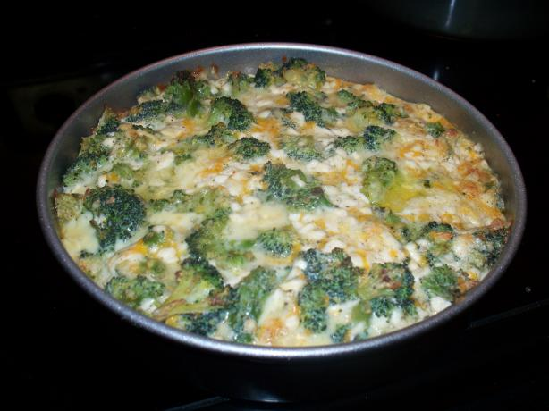Crustless Broccoli and Cottage Cheese Pie. Photo by Jujubegirl