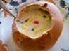 Old Mill Restaurant's Signature Corn Chowder. Recipe by CindiJ
