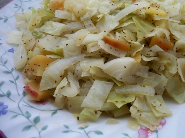 Simple Cabbage and Mushroom Side. Photo by *Parsley*