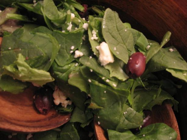 Simple Spinach Salad. Photo by Engrossed