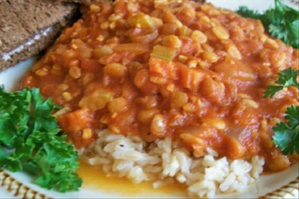 Lentil Barley Stew. Photo by lauralie41