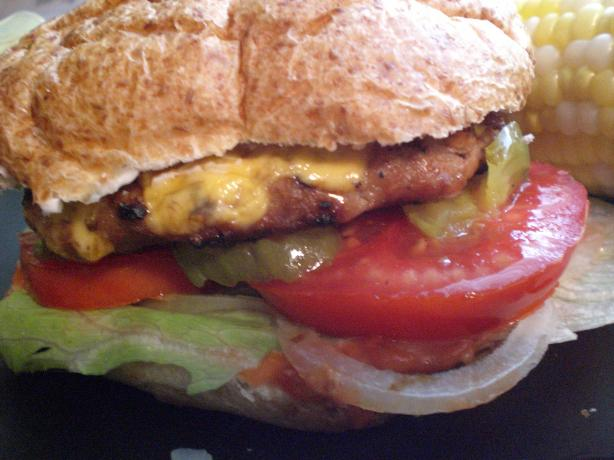 Tasty Turkey Burgers. Photo by Rollin in the Dough!