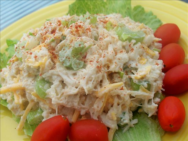 Simple Healthier Seafood Salad. Photo by *Parsley*