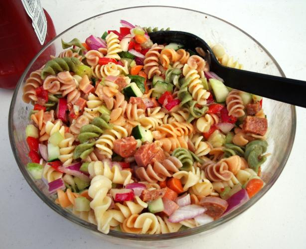 Italian Pasta Salad - #DIY #Crafts #Recipes#DIY #Crafts #Recipes