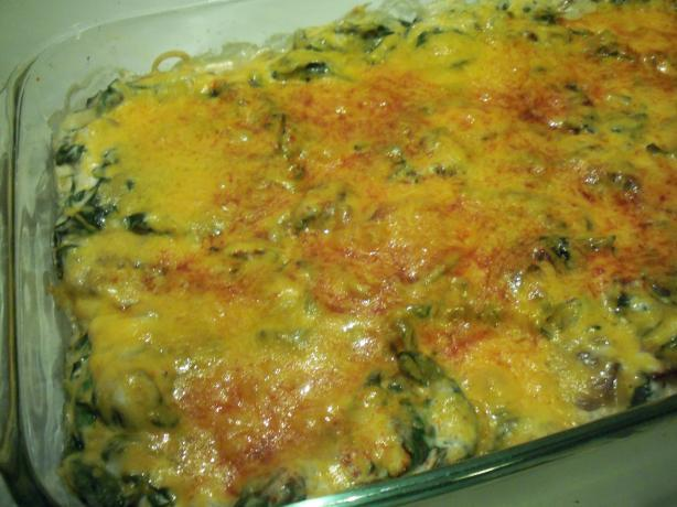 Casserole Spinach. Photo by *Parsley*